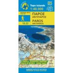 Map Paros (1:40.000) / Publications Anavasi