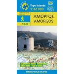 Map Amorgos (1:32.000) / Publications Anavasi