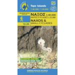 Map Naxos and Small Cyclades (1:40.000) / Publications Anavasi
