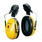 3M PELTOR™ Optime™ I Ear Muffs, 26 dB, Yellow, Helmet Mounted