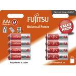 Fujitsu Batteries Alkaline AA/LR6/1.5V (8 Pieces)