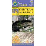 Χάρτης Πεντέλη (1:16.000) / Εκδόσεις Ανάβαση