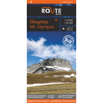 Route Maps Printed Map Of Mt.Olympus [101]