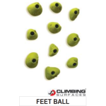 JM Climbing Surfaces Feet Ball Climbing Holds (10 pcs)