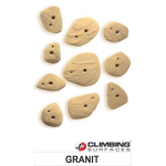 JM Climbing Surfaces Granit Climbing Holds (10 pcs)