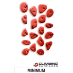 JM Climbing Surfaces Minimum Climbing Holds (18 pcs)