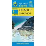 Map Skiathos (1:25.000) / Publications Anavasi