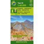 Map Gramos-Smolikas- Voio- Vasilitsa (1:40.000) / Publications Anavasi