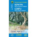 Map Corfu (1:40.000) Published by Anavasi