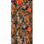 Apu Outdoor Scarf Blaze Orange 2 Polar / with orange fleece
