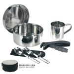 Laken Stainless Steel Camping Set Ø17 CM With Neoprene Cover / 1 person