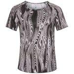 Odlo Millennium Element Print T-Shirt Black AOP FW18 Women's