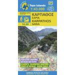 Μap Karpathos Saria Hiking (1:43 000) Published By Anavasi