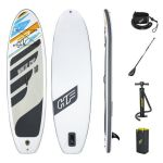 Bestway Σανίδα Sup Hydro-Force White Cap 3.04M