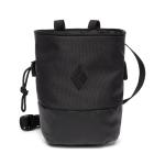 Black Diamond Mojo Zip Chalk Bag Black