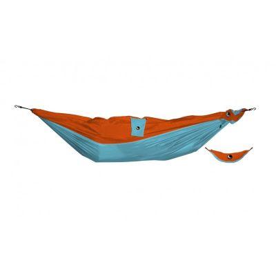 Ticket To The Moon Mini Hammock Turquoise Orange 150 x 75cm