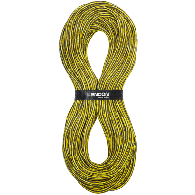Tendon Timber 15mm  Lowering Rope Black Yellow 60m