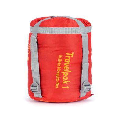 Snugpak Seeping Bag Travelpak Flame Red +7°C +2°C