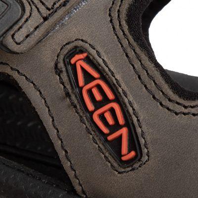 Keen Sandal Targhee III Men's Open Toe Grey Black