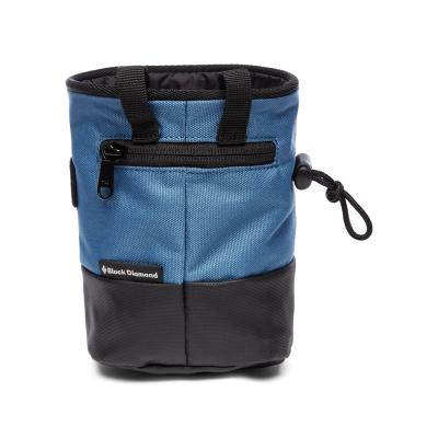 Black Diamond Mojo Zip Chalk Bag Astral Blue